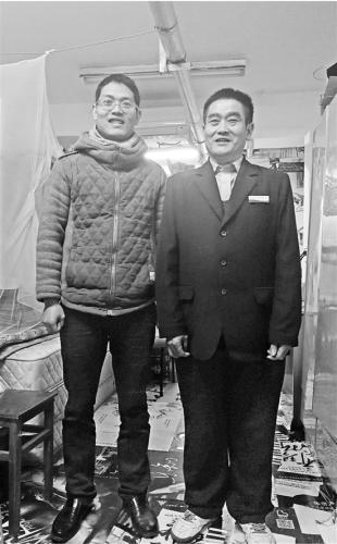 父亲当宿管儿子浙大读博 每天一起吃午晚餐最幸福